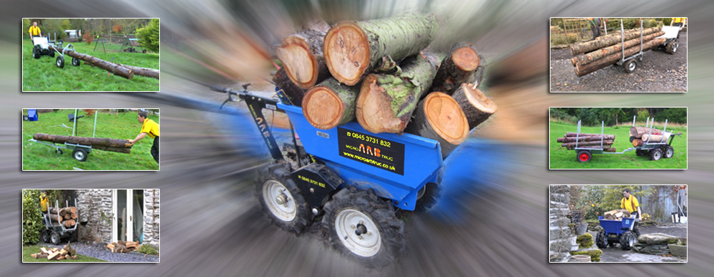 microarbtruc log and timber transporter